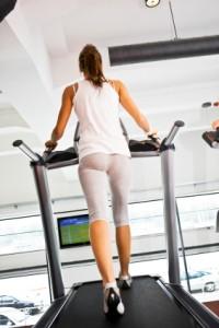 it's cold so zumewalking on treadmill