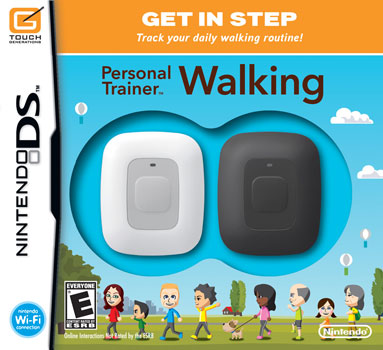 Personal Trainer - Walking by Nintendo DS